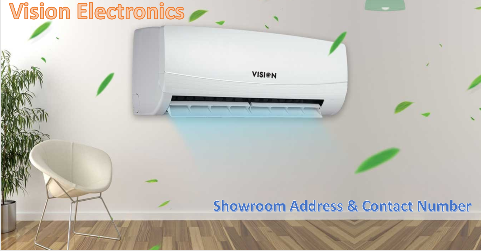 Vision showroom address & contact Number
