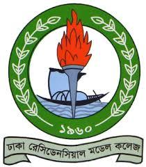 Dhaka Recidencial model college logo