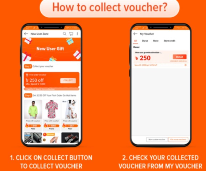 How to collect voucher