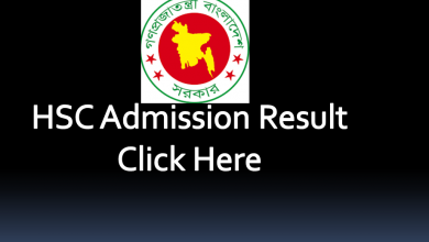 Hsc admission result feature image 2020