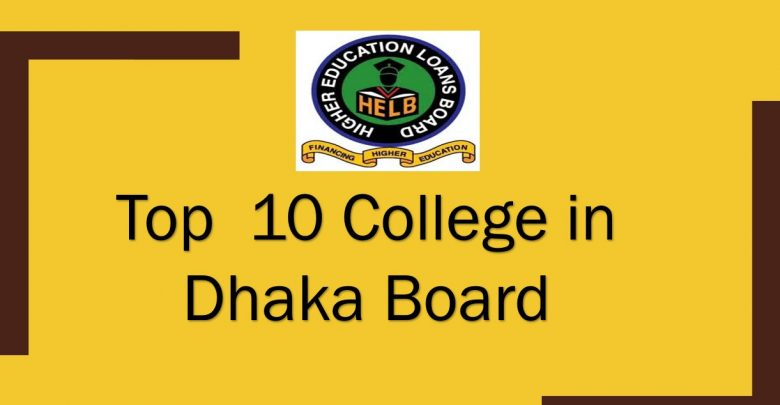 Top 10 College in Dhaka board feature image