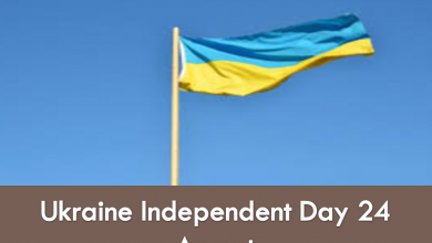 Ukraine independent Day wish and Message feature