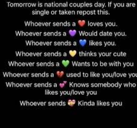 Message of national Couple day 2