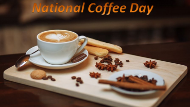 Happy National Coffee day quotes feature images
