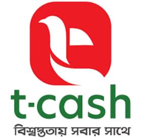 T-cash logo