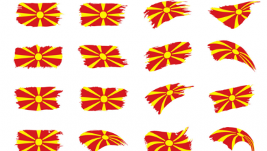Macedonia independence Day image