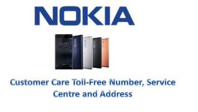 Nokia Customer care toll free number, service centre and address