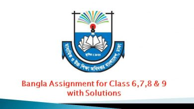 Bangla Assignment for Class 6, 7, 8, & 9 image