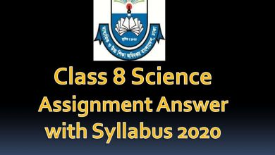 Class 8 Science Solutions with Syllabus