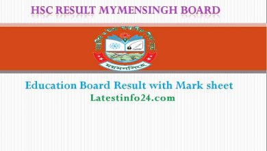 HSC Result mymensingh education board