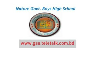 Natore Govt. Boys High School Admission Results