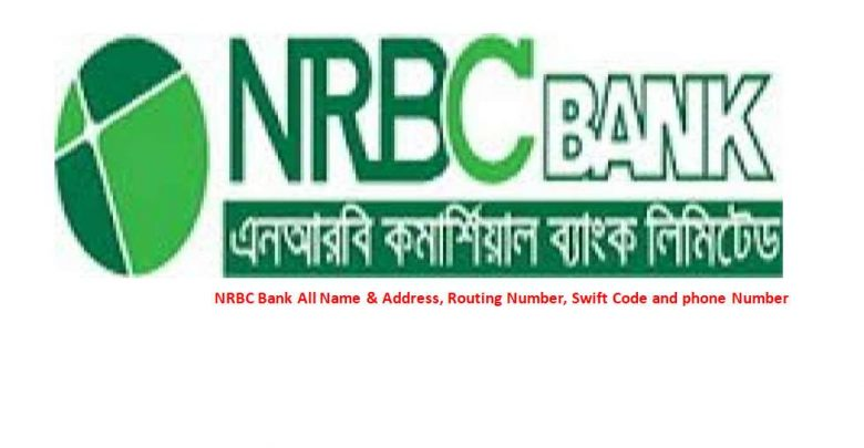 NRBC Bank All Branch Name & Address, Routing Number, Swift Code and phone Number