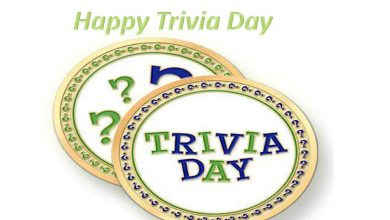 National Trivia Day Wishes, Messages, Quotes, Slogans & Greeting