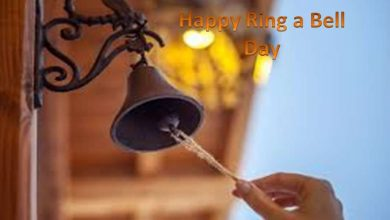 Ring a bel day