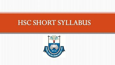 HSC Short Syllabus 2021 PDF Download All Subjects