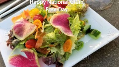 Happy National Grain Free Day Wishes, Observation, History, Messages and Status