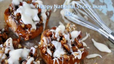 National Sticky Bun Day Quotes, Wishes, Messages, SMS, Greening & Images