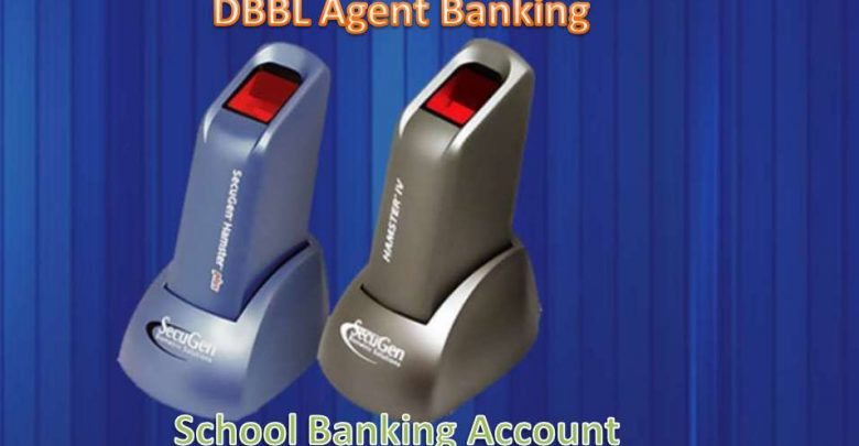 School banking account of DBBL Agent Banking service charge, transaction limit & ATM card