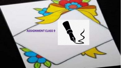 3rd week Class 9 Assignment Arts and Crafts Answer