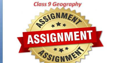 Class 9 Geography Answer & Syllabus for 4th week 2021