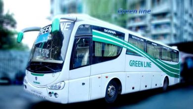 Green line Paribahan Counter Contact Number & Location