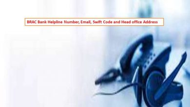 BRAC Bank Helpline Number, Email, Swift Code and Head office Address